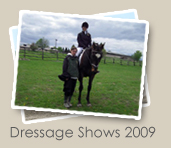 2009 Dressage Shows Photo Gallery - Coming Soon