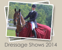 2014 Dressage Shows Photo Gallery
