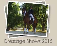 2015 Dressage Shows Photo Gallery